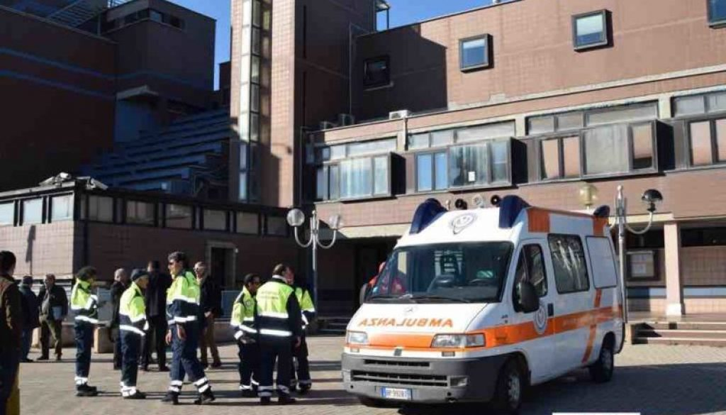 Ambulanza Ladispoli