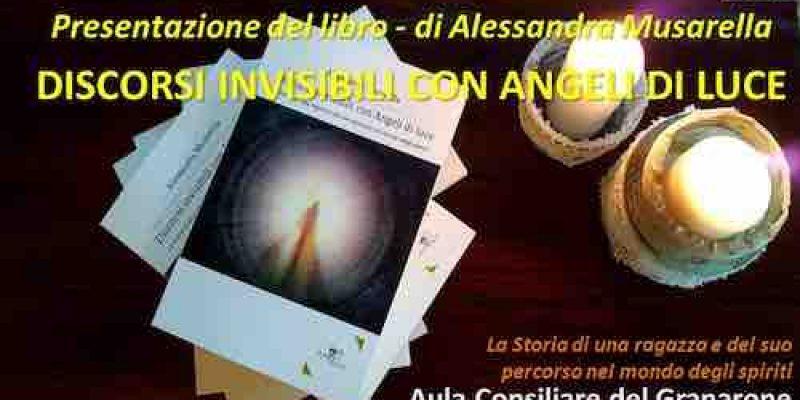 Cerveteri, in Aula Consiliare Alessandra Musarella presenta 'Discorsi invisibili con Angeli di Luce'