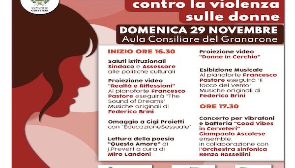 Giornata Internazionale contro la violenza sulle donne copia