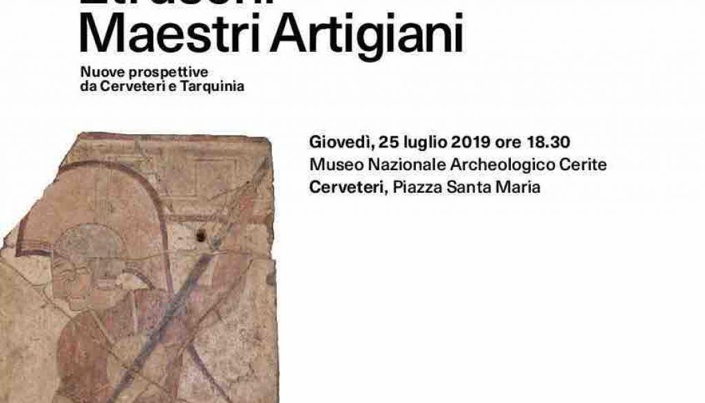 etruschi maestri artigiani