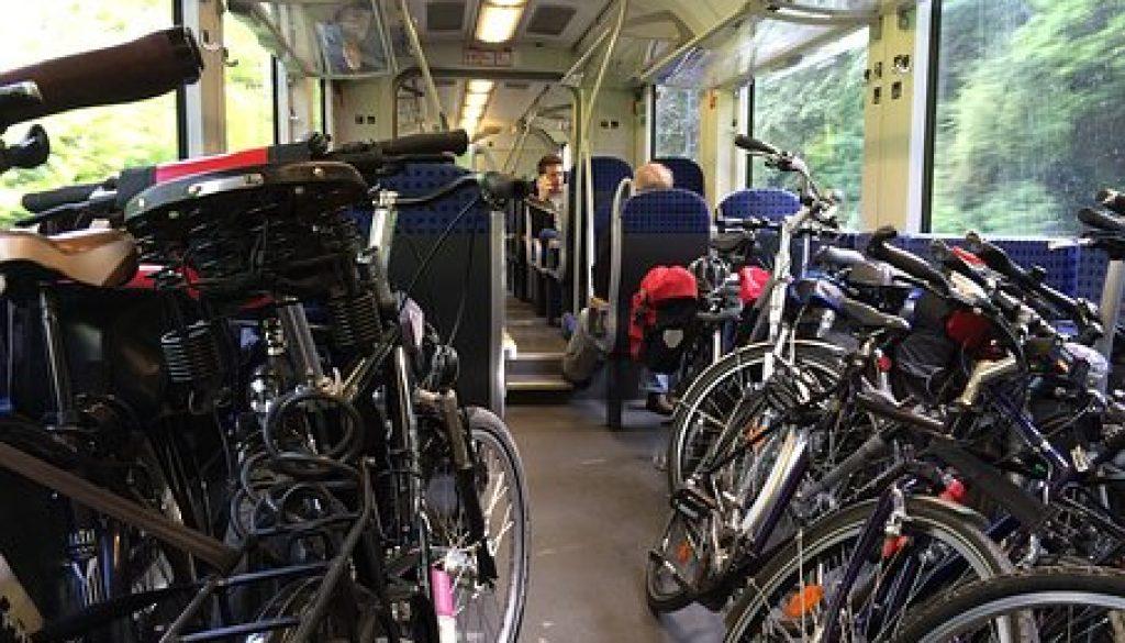 treno + bici